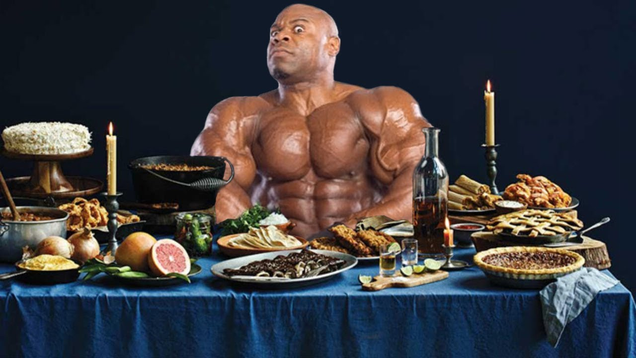 Kai Greene - 7 Meals in a day - YouTube