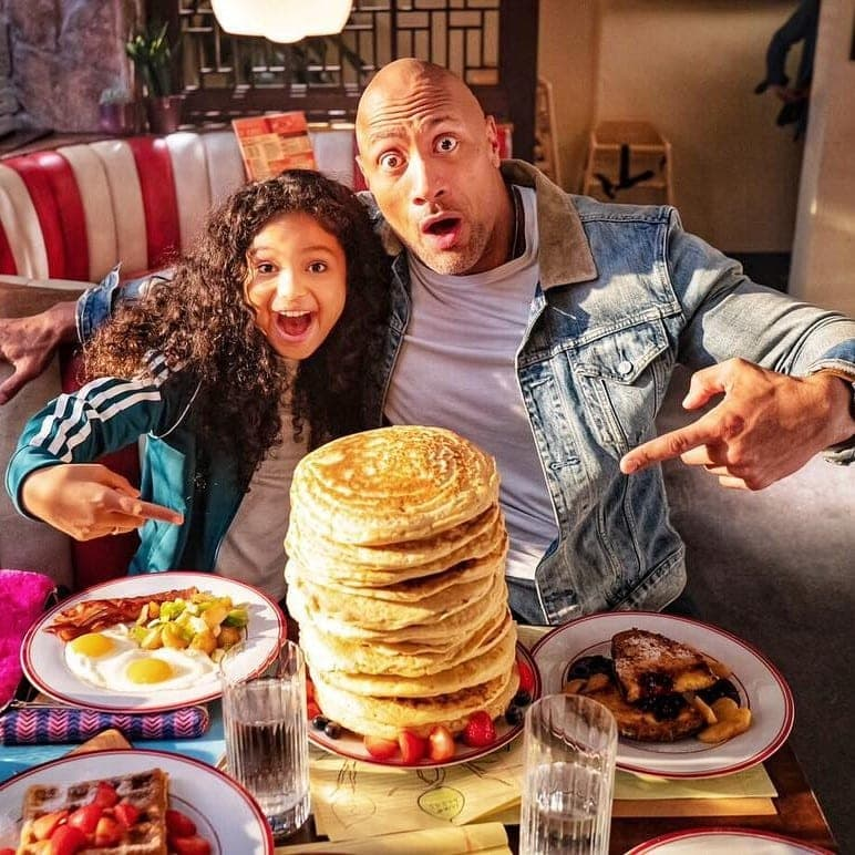 Here's all the food The Rock eats in a single day - Sports Retriever